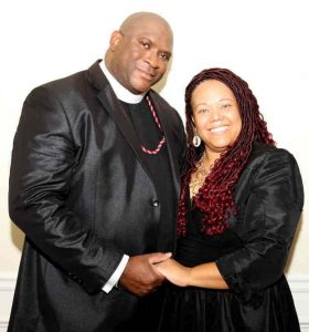 Pastor Samuel Walker and Lady Shameka Walker - Co-hosts of 2019 New Year's Eve Service